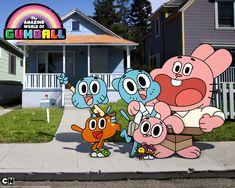 Incrivel Mundo de Gumball: Família <3