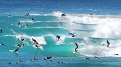 Superbanks, Gold Coast, Australia... un'altra meta dei miei sogni, l'onda più famosa della zona, in acque un po' pericolose per via degli squali, ma sarebbe sicuramente un'esperienza impagabile!