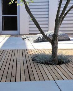 Contemporary garden idea - Home - Garden Floor