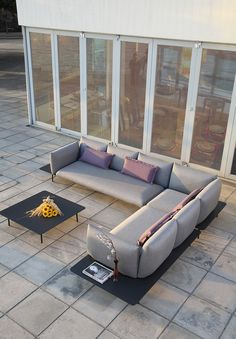 Kona-outdoor sectional Outdoor Lounge, Outdoor Sectional, Sectional Sofa, Outdoor Decor, Outdoor Furniture, Collection, Home Decor, Products, Modular Couch