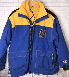 8f906ad623f370 Vintage CHAMPION UCLA Bruins Zip Jacket Coat 90 s Men s Size SZ 2XL