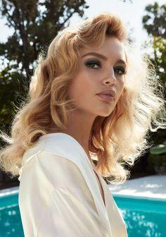 Staz Lindes by Camilla Akrans for Allure May 2017, stylist Tom Van Dorpe, hair Franco Gobbi, makeup Wendy Rowe, manicure Carla Kay