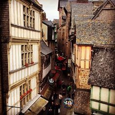 Mont Saint-Michel, France | 17 Actual Towns That Look Just Like Hogsmeade