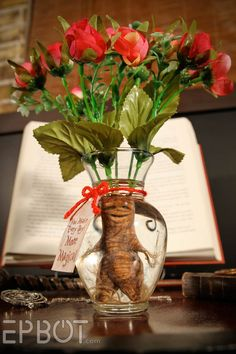 EPBOT: DIY: A Harry Potter-Inspired Mandrake Root Valentine Bouquet!