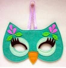 Image result for felt mask for kids free patterns