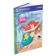 LeapFrog LeapReader Book Disney Princess Adventures Under the Sea works with Tag -- Read more  at the image link. (This is an affiliate link and I receive a commission for the sales)