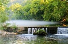 Rockbridge Missouri  It may not be on my bucket list, I can go there anytime I want to, but it's just plain pretty!