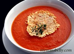 Move over Campbell's! Make this simple, healthy tomato soup instead of opening a can.