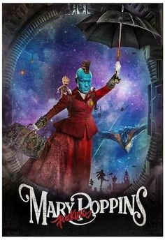 I'm Mary fucking Poppins ya'll! #GuardiansOfTheGalaxy