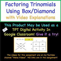 Step by Step video instructions. Use in Google Classroom as a TPT Digital Activity!
