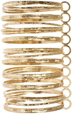 97802d21222 River Island Jewelry | River Island River Island Gold Connected Bangles - Lyst  River Island Fashion