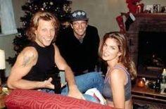 Jon Bon Jovi, Herb Ritts, and Cindy Crawford