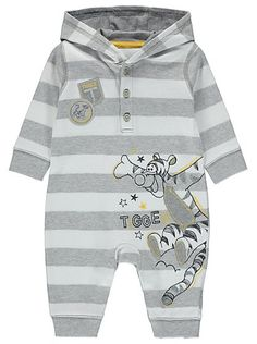 Disney Tigger Hooded All in One, read reviews and buy online at George at ASDA. Shop from our latest range in Baby. Designed for your little one, this hooded...