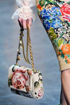 Dolce & Gabbana - A/W 2012/13 - Is needlepoint the next big fashion trend?