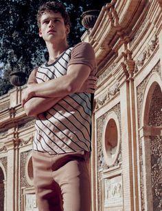 Simon Nessman for Numéro Homme SS 2016