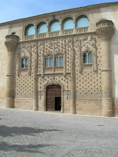 Jaén Fachada Palacio Jabalquinto Baeza