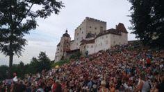 Burg Clam im Mühlviertel. Ein besonderer Ort für Konzerte. #burgclam #mühlviertel #boardoramio #konzert