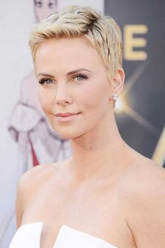 10 New Charlize Theron Pixie Haircuts | Pixie Cut 2015