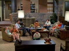 30 Beautiful Television Homes We Wish We Could Call Our Own. The Brady BunchFaux  ...