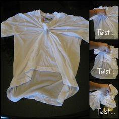 How To Make Mickey Head Tie Dye Shirts - Kids Activities Blog
