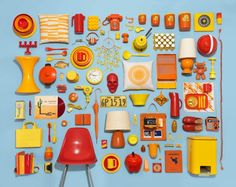 """A project which reminds the series """"The Art of Tidying Up"""" by the artist Ursus Wehrli."""
