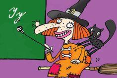 Učení není mučení. Procvičit si můžeš český jazyk, matiku a další školní znalosti v zábavné čarodějnické školičce!