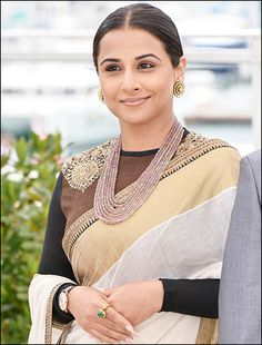 Vidya Balan is having a ball at Cannes!