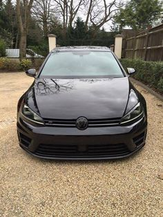All Black Everything Golf R
