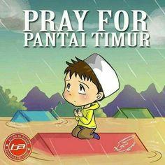 #prayforpantaitimur