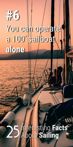 As long as you fit it out properly, you can sail almost any sailboat short handed. Read my article for more interesting sailing facts. Ireland Vacation, Ireland Travel, Galway Ireland, Cork Ireland, Sailing Terms, Sailing Ships, Sailing Basics, Sailing Lessons, Ocean Sailing