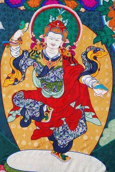 Dancing Guru བསམ་ལྷུན་གུ་རུ།(Padmasambhava/ Guru Rinpoche)