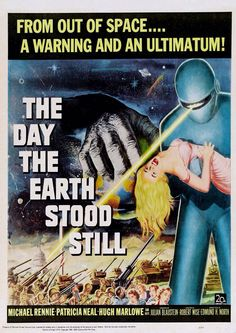 Poster from the film The Day The Earth Stood Still