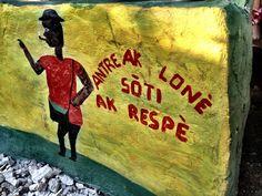 Vodou hounfour entrance, Kabik, #Haiti.  ayitipapperi.wordpress.com