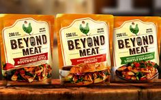 Meat-free brand Beyond Meat unveils 'bold' new pack design www.foodbev.com/news/meat-free-brand-beyond-meat-unveils-bold-new-pack-design/