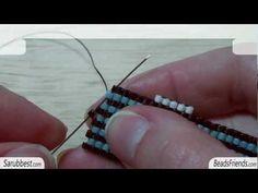 Tutorial perline Peyote: come fare gli aumenti su una fascia al Peyote | Tutorial Perline