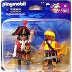 Playmobil Pirates with monkey