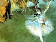 I Letterandi: Edgar Degas- L'Etoile