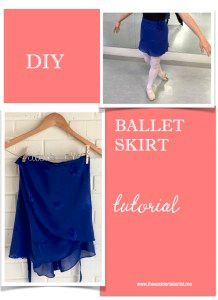 DIY ballet skirt tutorial from The Accidental Artist. I am pleased to be able to share my first sewing tutorial with you! I make most of my wrap ballet skirts to match my leotards. Use your favorite skirt as your pattern.