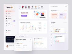 Dashboard Examples, Web Dashboard, Ui Web, Dashboard Design, Wireframe Design, Web Design Examples, Ui Design Inspiration, Application Design, Mobile App Design