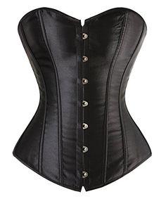 Kimring Women's Sexy Slim Burlesque Satin Body Shaper Strapless Plus Size Overwear Corset Black Small Kimring http://www.amazon.com/dp/B00PNR5PPU/ref=cm_sw_r_pi_dp_No4Xvb18DRPQ8