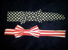 Bow Headbands! $12 each contact me @ www.facebook.com/tifaniestreasures I will make a custom etsy listing for you!
