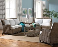 PAGE 6 | Wicker Living Room | Rattan Sofa | Wicker Table | Rattan and Wicker Chair