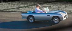 Car dealer sells mini Aston Martins for kids