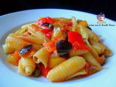 Castellane olive, peperoni e capperi