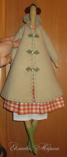 step-by-step directions of putting a Tilda doll together.