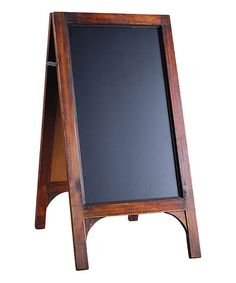 Ideas For Wood Frame Stand Chalkboard Easel Chalkboard Stand, Chalkboard Easel, Chalkboard Ideas, Blackboard Paint, Pedestal, Contemporary Frames, Magnetic Wall, Blackboards, Floor Decor