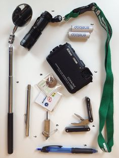 9 Geocaching tools to keep in your pack (also add gloves, headlamp, and a stick/pokey thing to poke before sticking your hand in something, oh, and a grabber thingey & mosquito repellant)