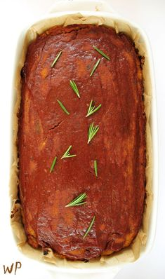Meatloaf, Bon Appetit, Gluten Free Recipes, Preserves, Free Food, Steak, Paleo, Food And Drink, Vegetarian