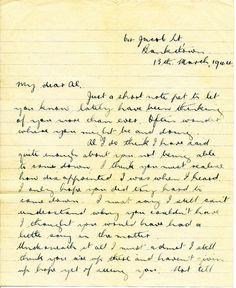 WW2 soldier love letter