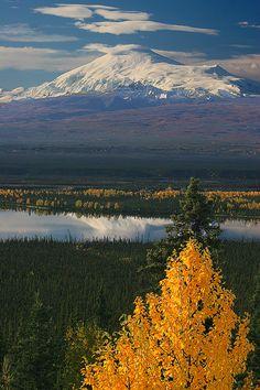 Mt Sanford, Wrangell-St Elias National Park and Preserve, Alaska /Unesco Word Heritage List